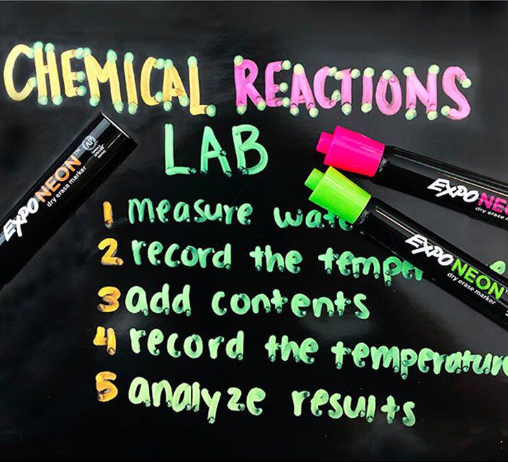 Neon Expo markers