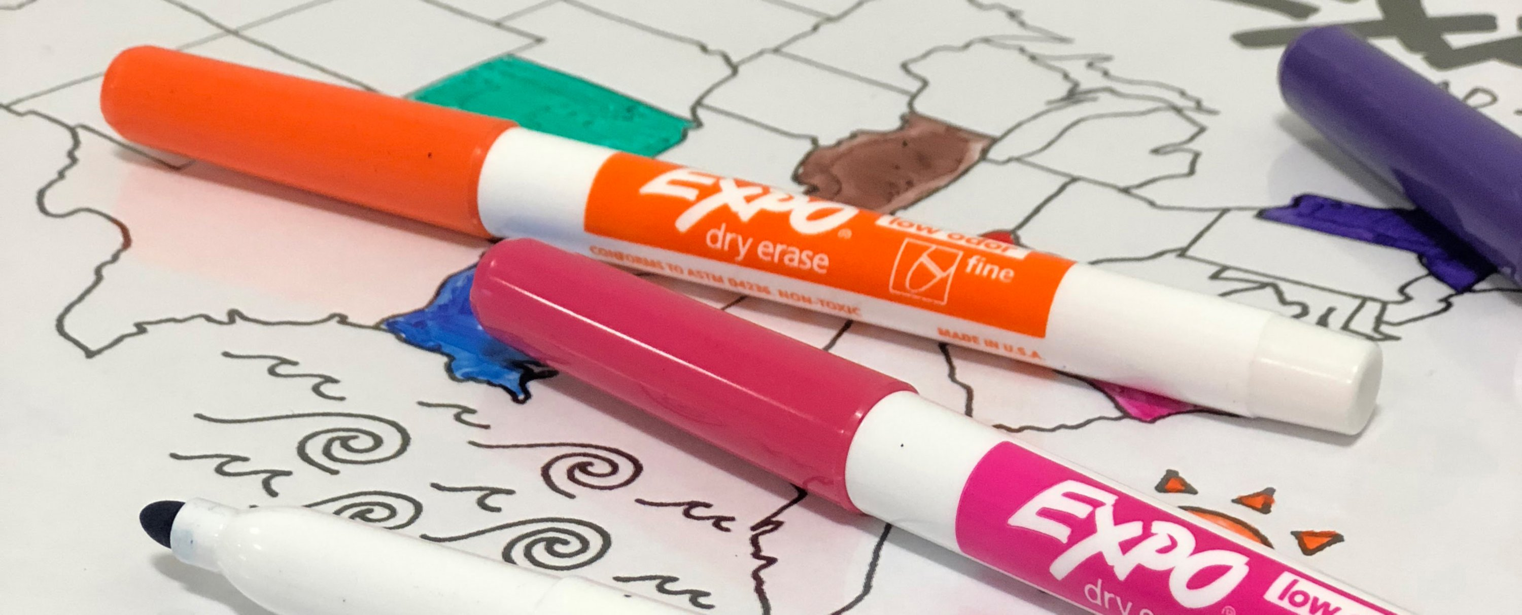 expo-road-trip-map-with-fine-expo-markers